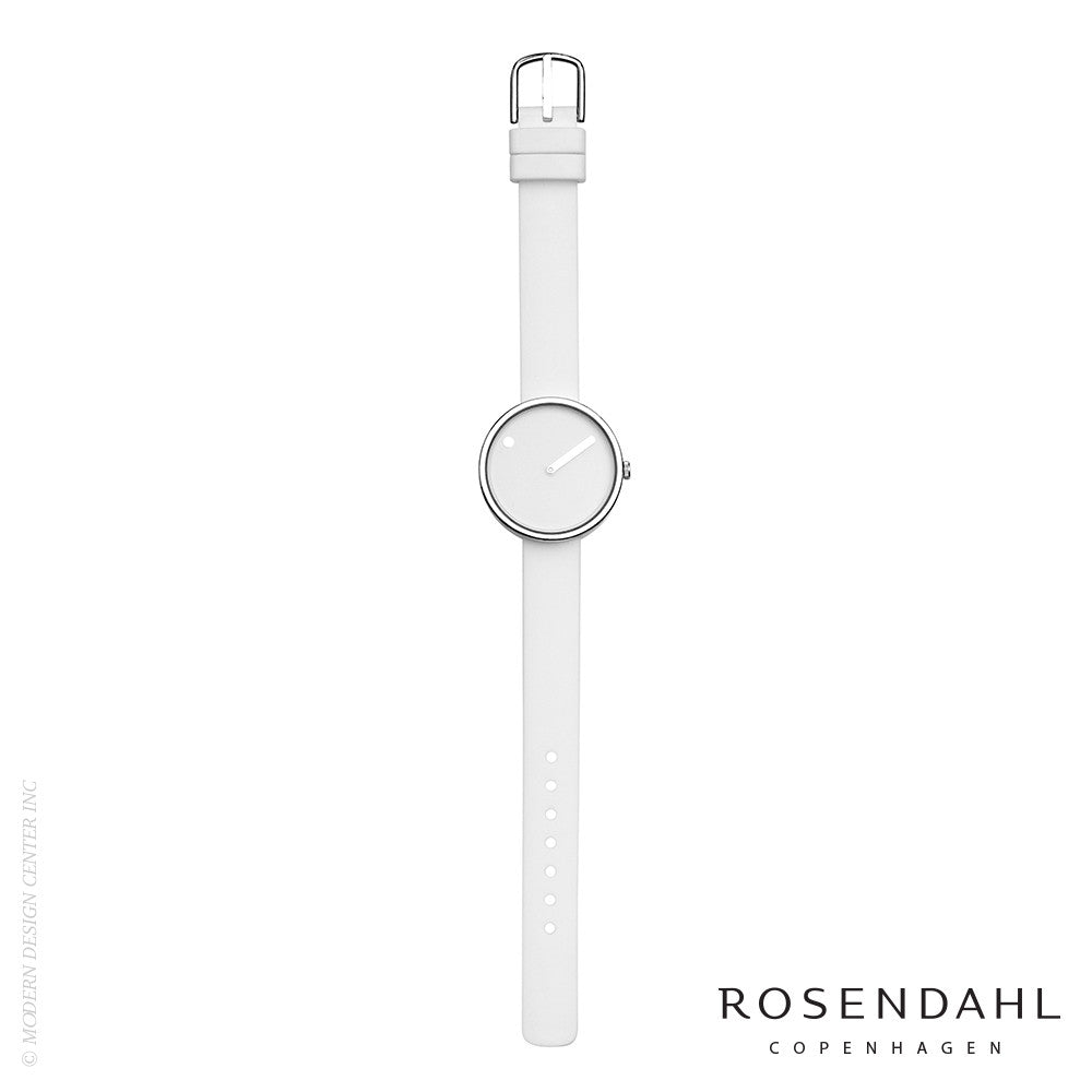 Rosendahl Picto Analog Watch White - LoftModern - 2