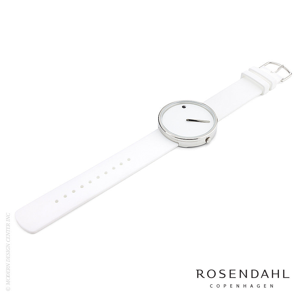 Rosendahl Picto Analog Watch White - LoftModern - 3