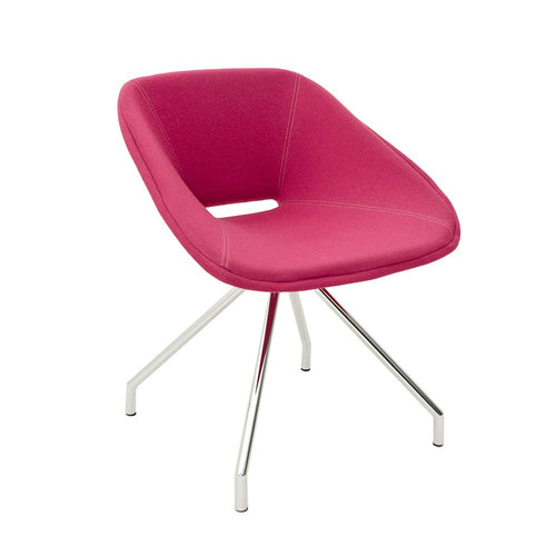 B&T Red Swivel Chair