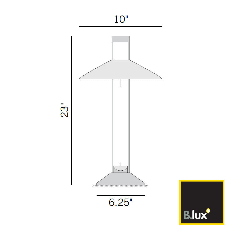 B.Lux Regina Table Lamp | B. Lux | LoftModern