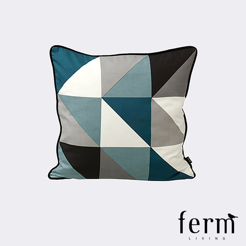 Ferm Living Remix Cushion Blue | Ferm Living | LoftModern