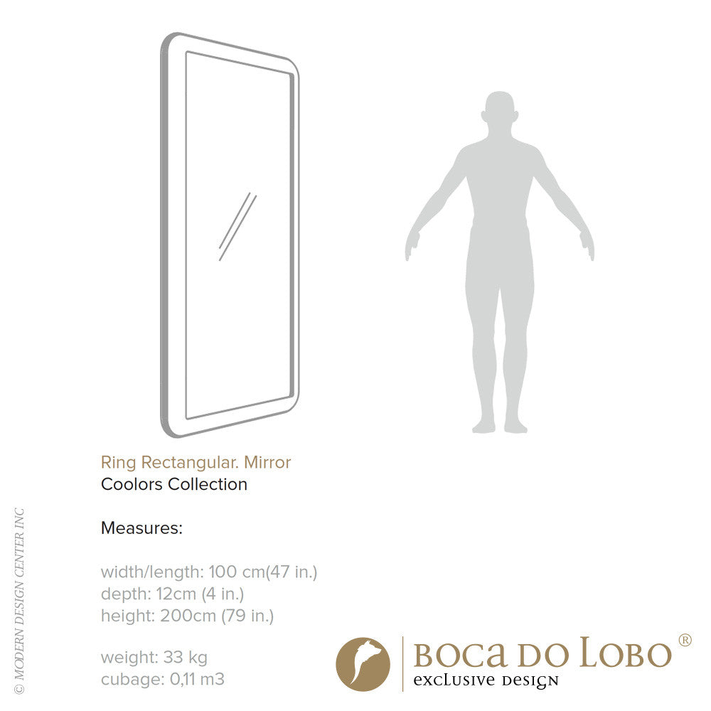 Boca do Lobo Ring Mirror Coolors Collection - LoftModern - 3