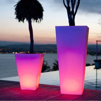 Rumba LED Cordless Planter by Smart & Green