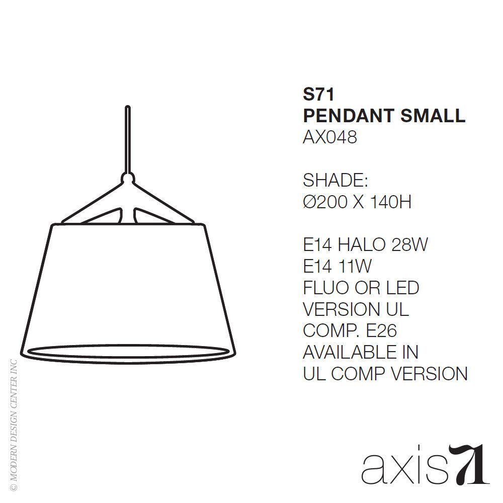 Axis 71 S71 Pendant Light - LoftModern - 2