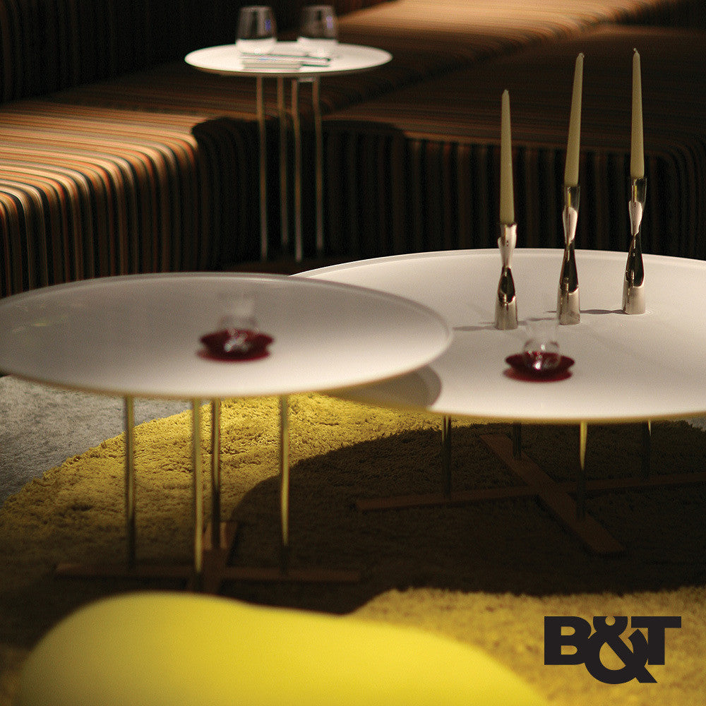 B&T Sini Table White | B&T | LoftModern