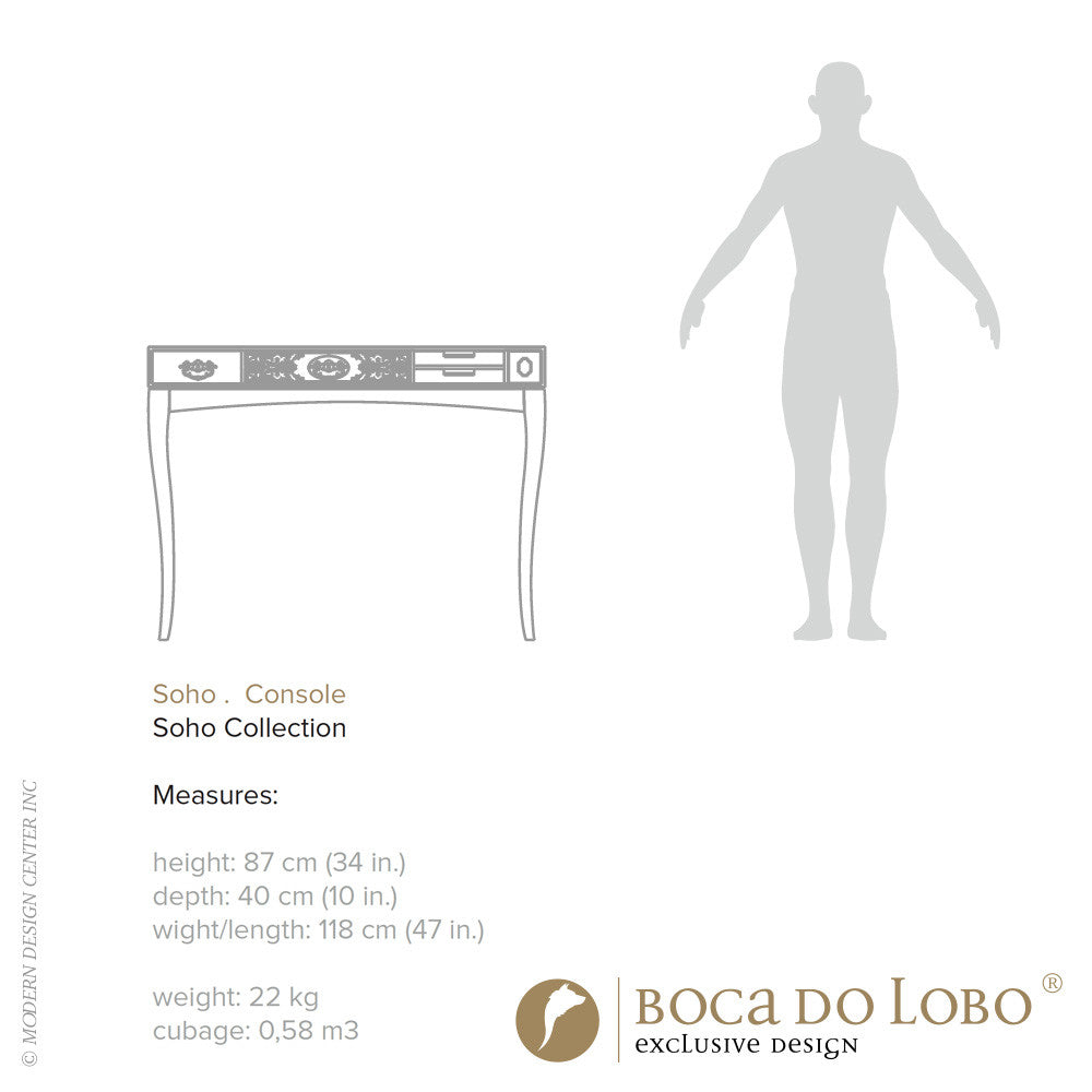 Boca do Lobo Soho Console Soho Collection - LoftModern - 2