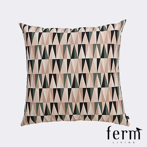 Ferm Living Spear Floor Cushion Rose | Ferm Living | LoftModern