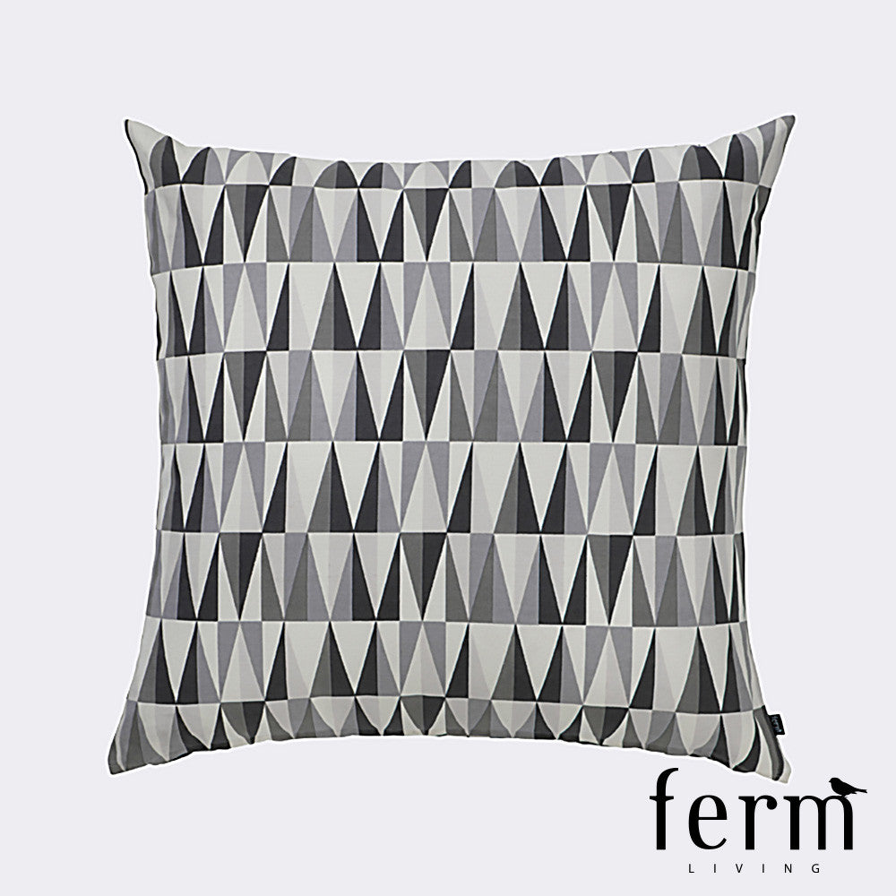 Ferm Living Spear Floor Cushion Grey | Ferm Living | LoftModern