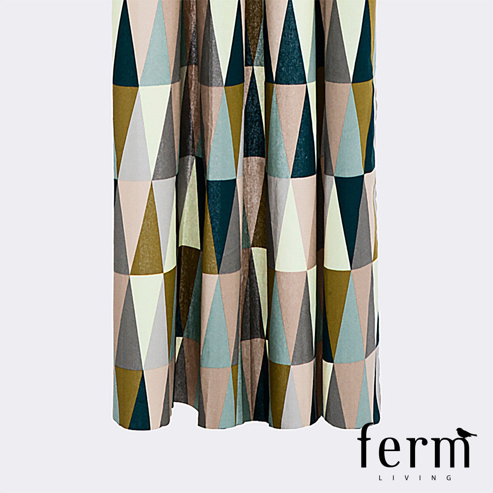 Ferm Living Spear Shower Curtain | Ferm Living | LoftModern