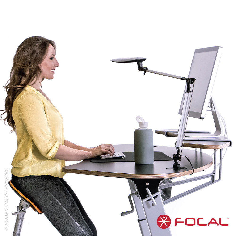 Focal Upright Sphere Desk - LoftModern - 2
