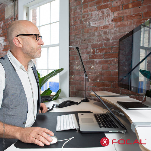 Focal Upright Sphere Desk | Focal Upright | LoftModern