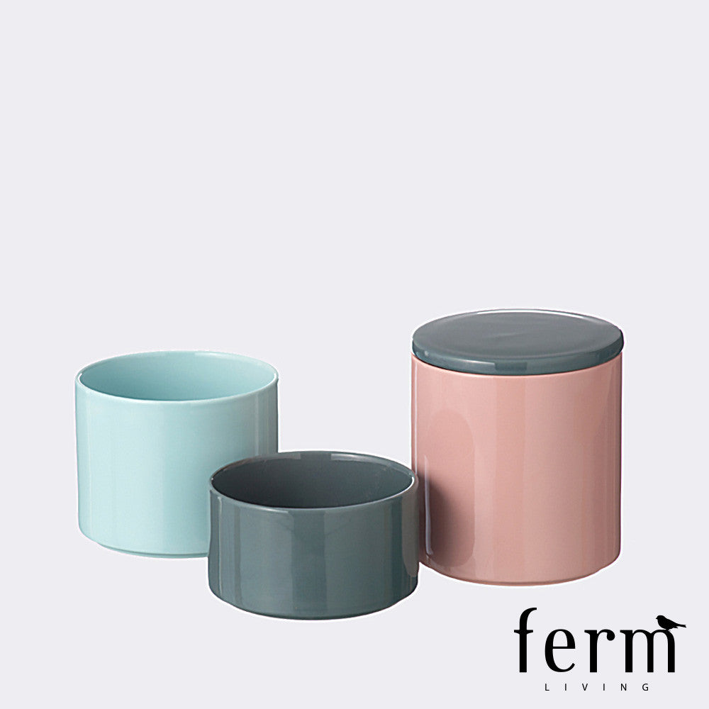 Ferm Living Stackable Jars - LoftModern - 2