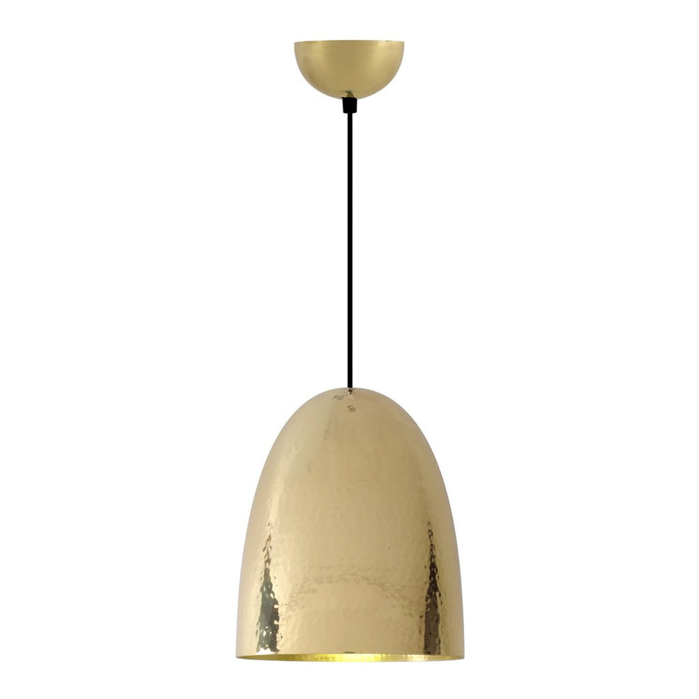 Stanley Brass Large Pendant Light of Original BTC