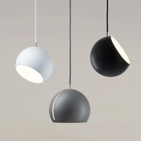 Tilt White Globe Pendant Light of Nyta
