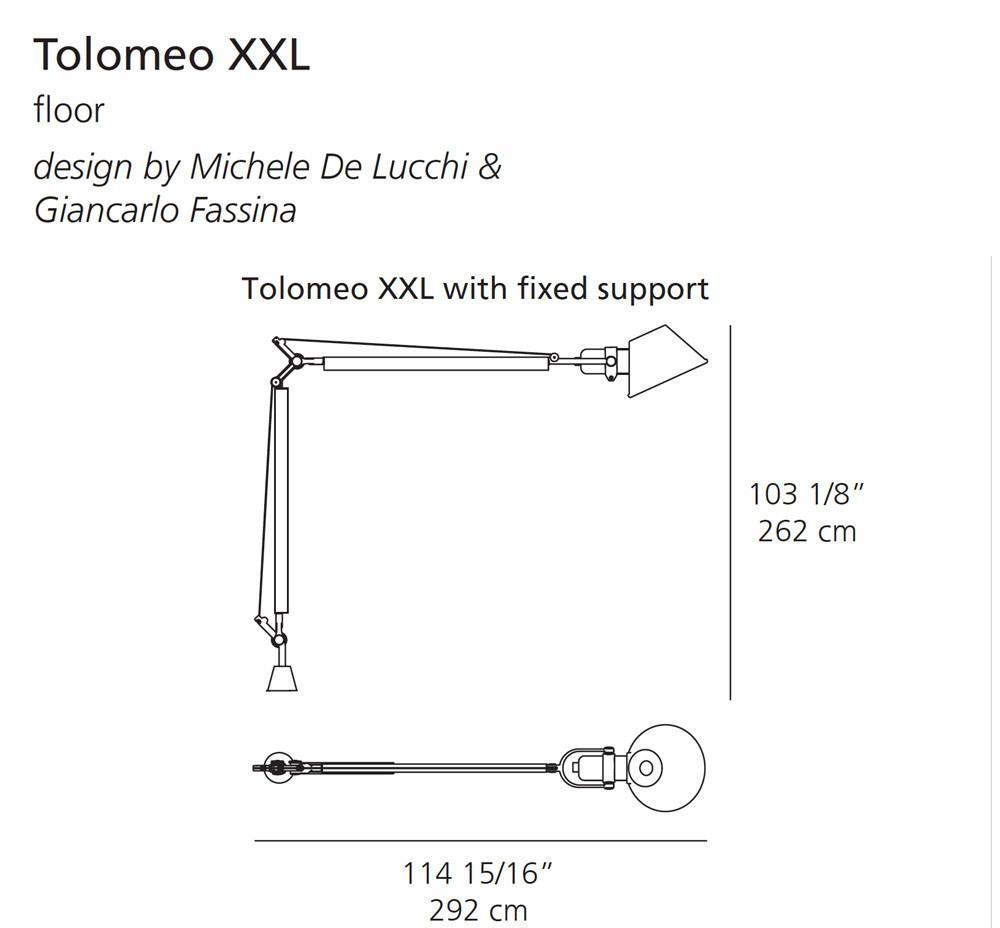 Artemide Tolomeo XXL Outdoor Floor Lamp - LoftModern - 7