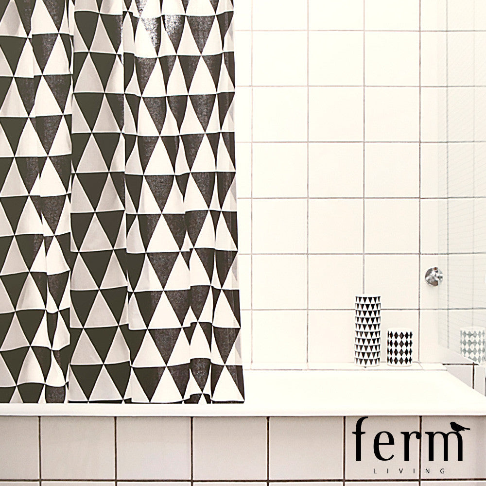 Ferm Living Triangle Shower Curtain - LoftModern - 2