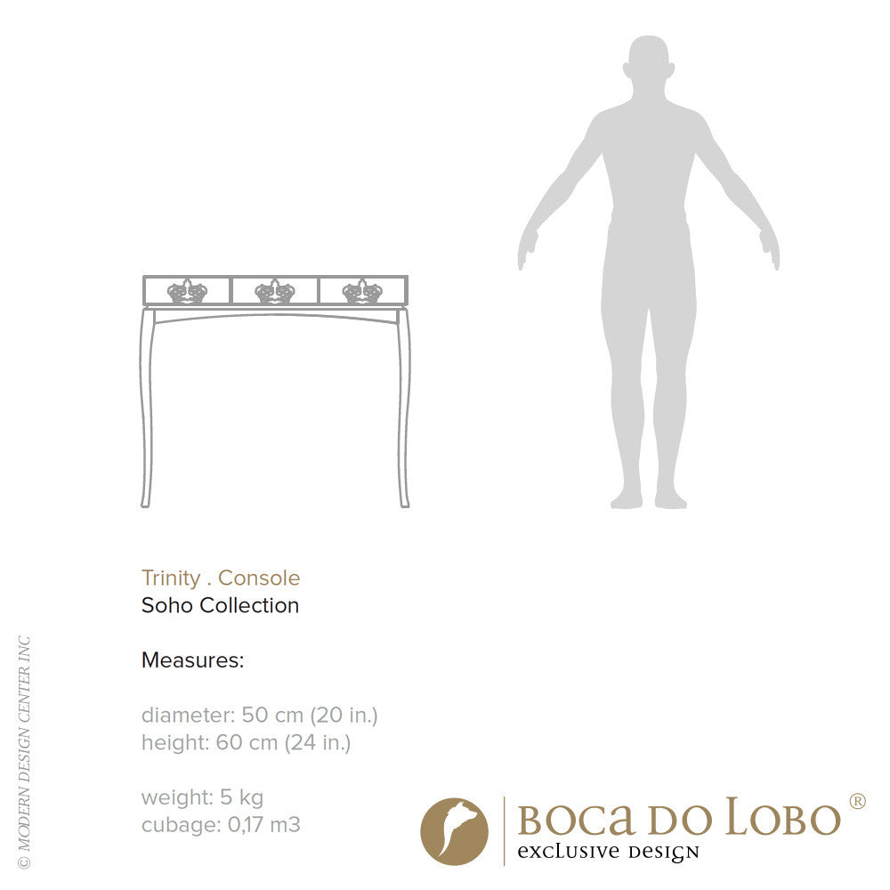 Boca do Lobo Trinity Console Soho Collection | Boca do Lobo | LoftModern