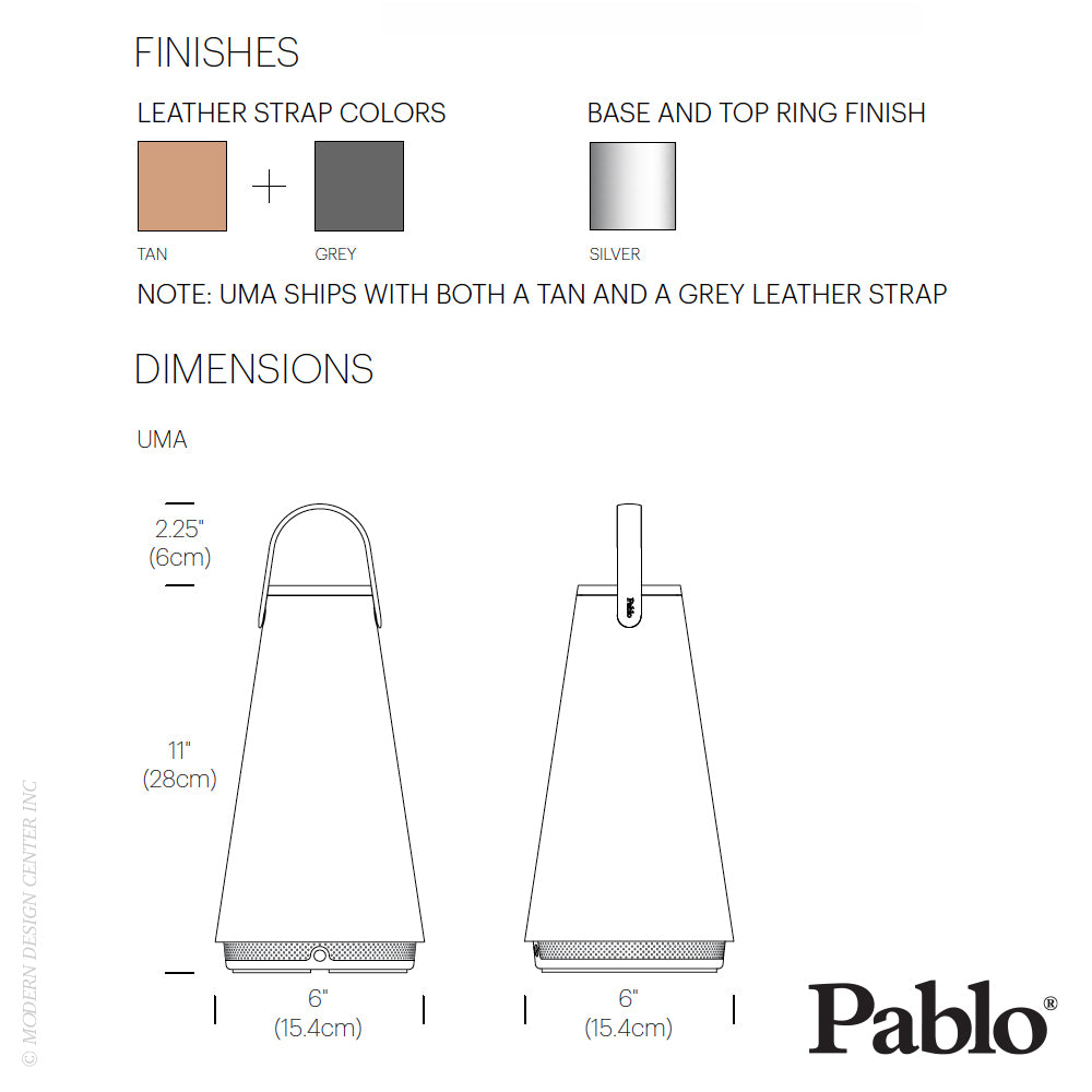 Pablo Designs Uma Rechargeable LED Lantern