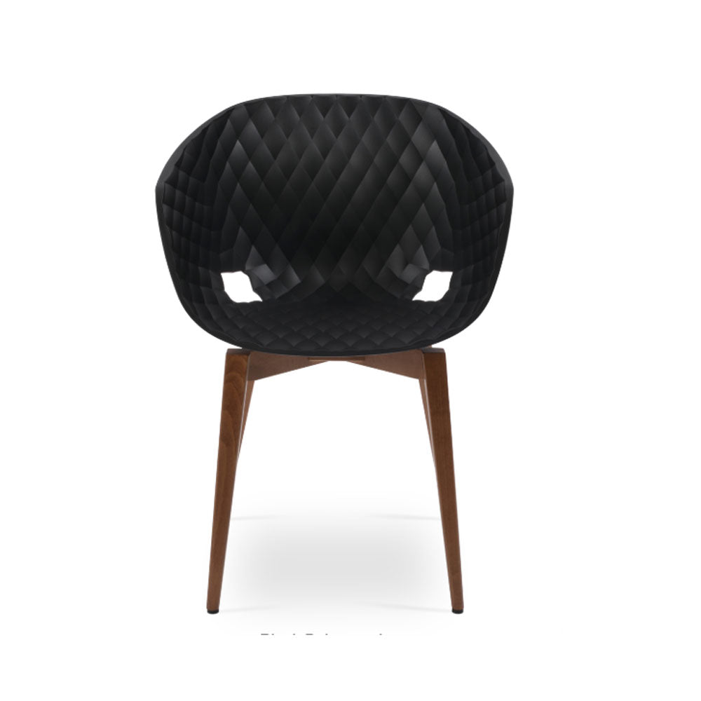 Uni-ka 599 Wood Arm Chair by SohoConcept