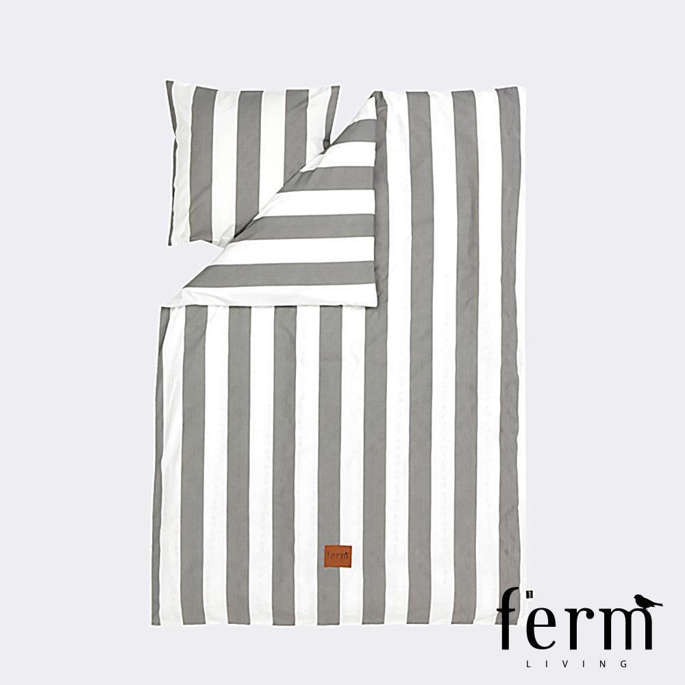 Ferm Living Vertigo Bedding Grey | Ferm Living | LoftModern