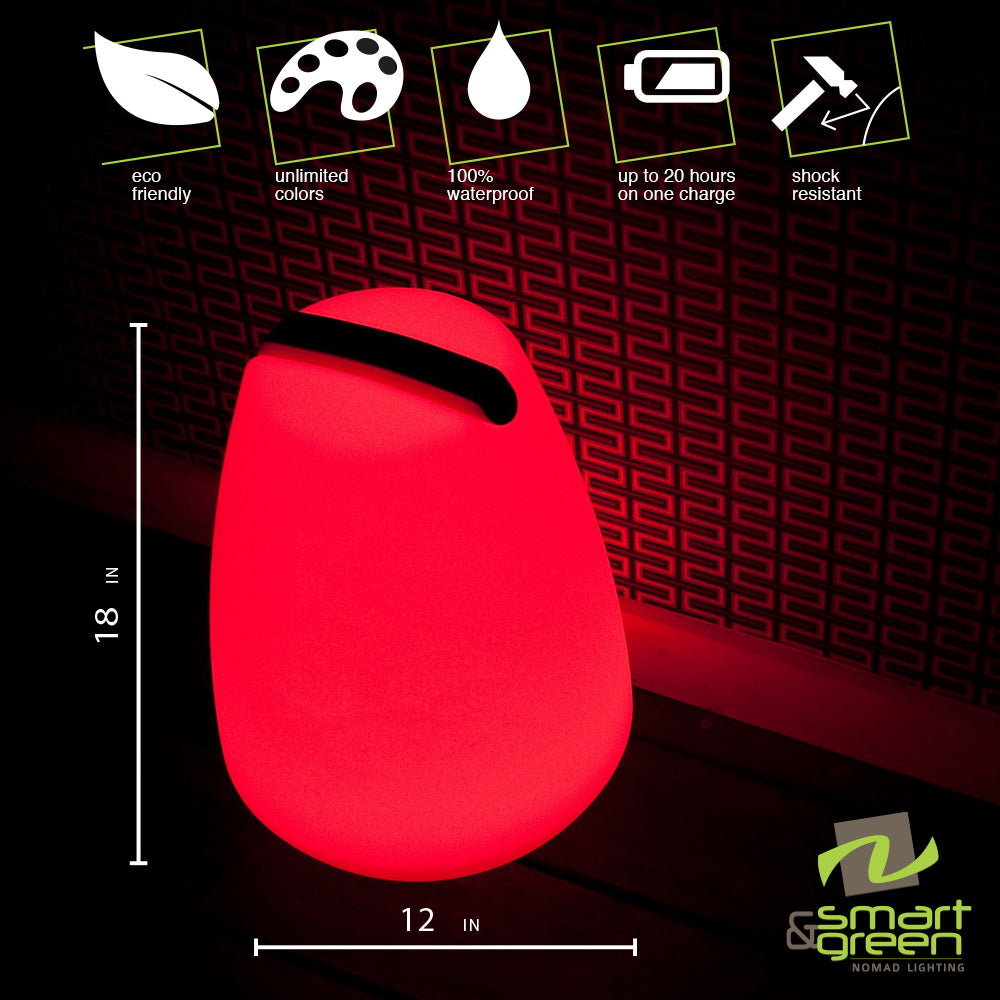 Vessel LED Cordless Lamp by Smart & Green
