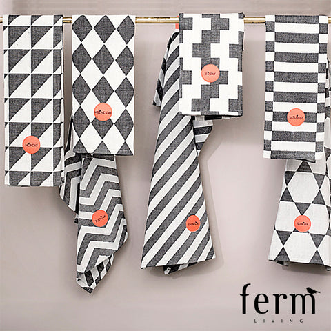 Ferm Living A Week of Tea Towels
