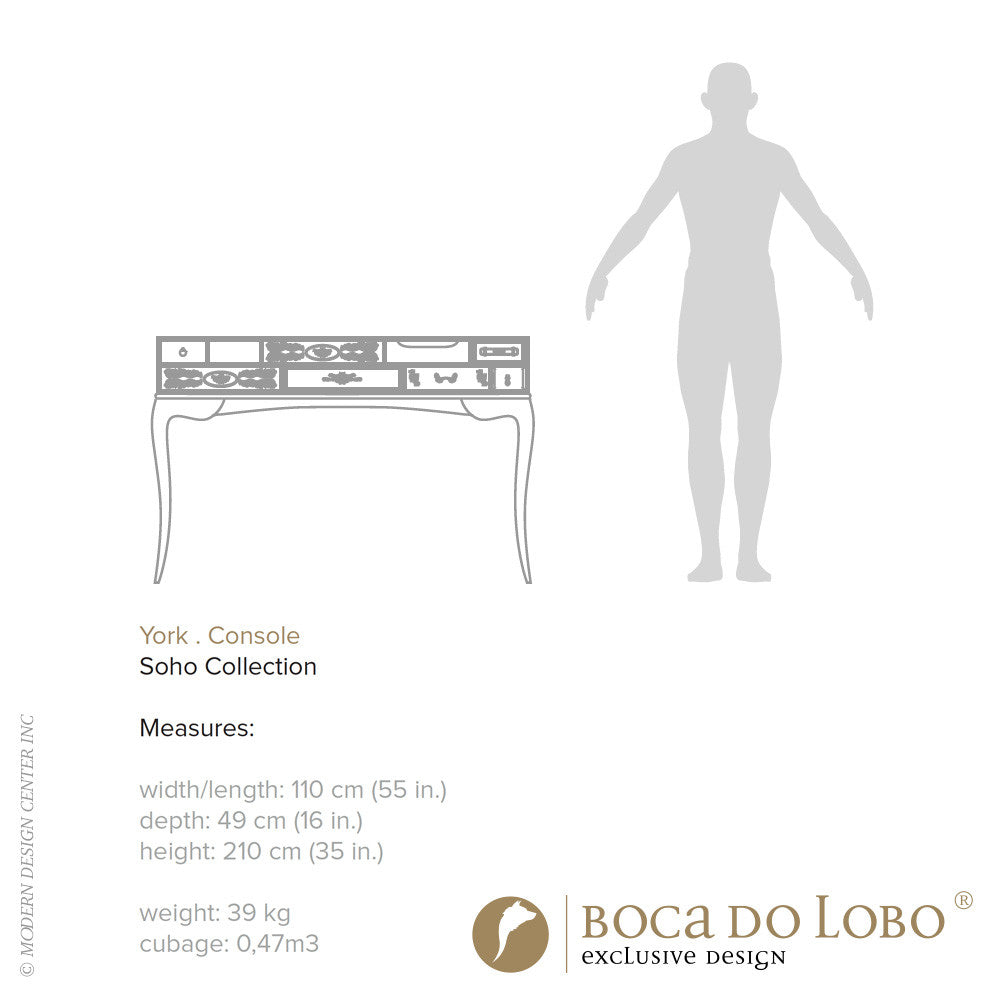 Boca do Lobo York Console Soho Collection | Boca do Lobo | LoftModern