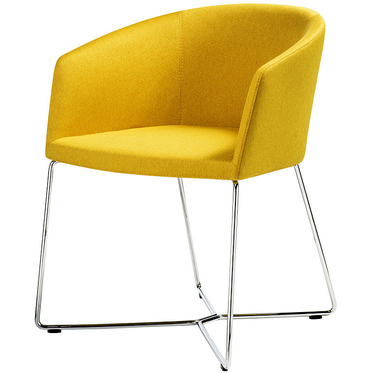 B&T Barclay Sledge Base Chair | B&T | LoftModern