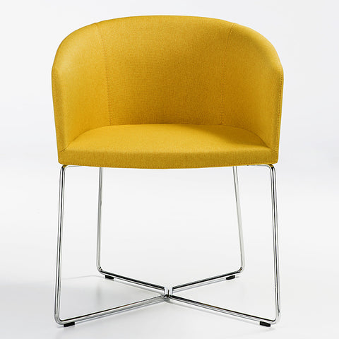 B&T Barclay Sledge Base Chair