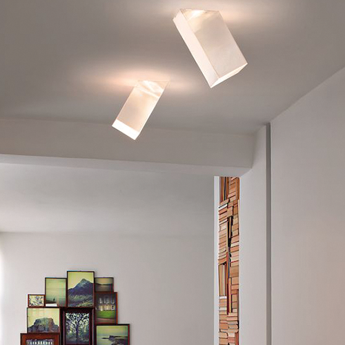 Beetle Medium 60° Cube Wall & Ceiling by Studio Italia Design