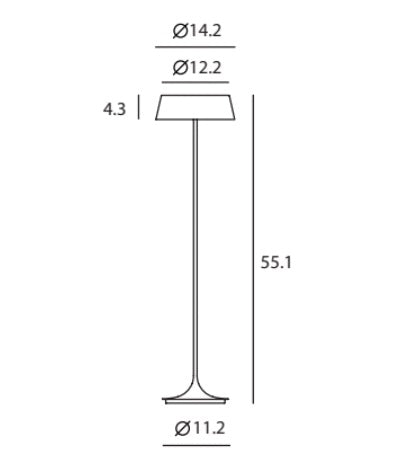 SeedDesign Lighting China Floor Lamp