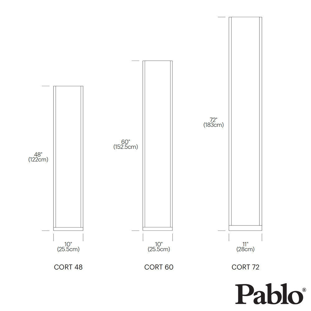 Pablo Design Cortina Floor Lamp | Pablo Design | LoftModern