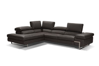 Atelier Italiana I716 Gray Sectional Sofa Left Facing Chaise by Incanto