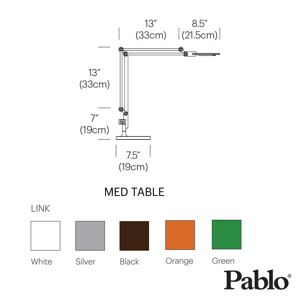 Pablo Design Link Table Lamp Medium | Pablo Design | LoftModern