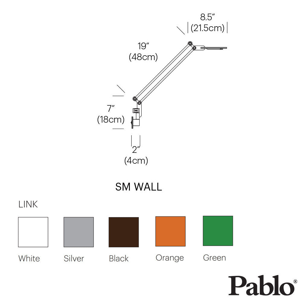 Pablo Design Link Wall Mount Small - LoftModern - 6