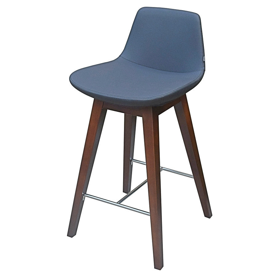 B&T Pera Wood Base Counter Stool | B&T | LoftModern