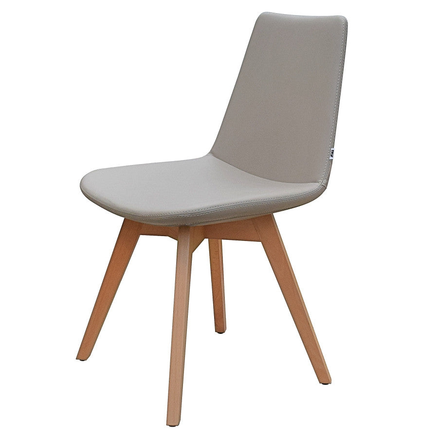 B&T Pera Wood Base Chair | B&T | LoftModern