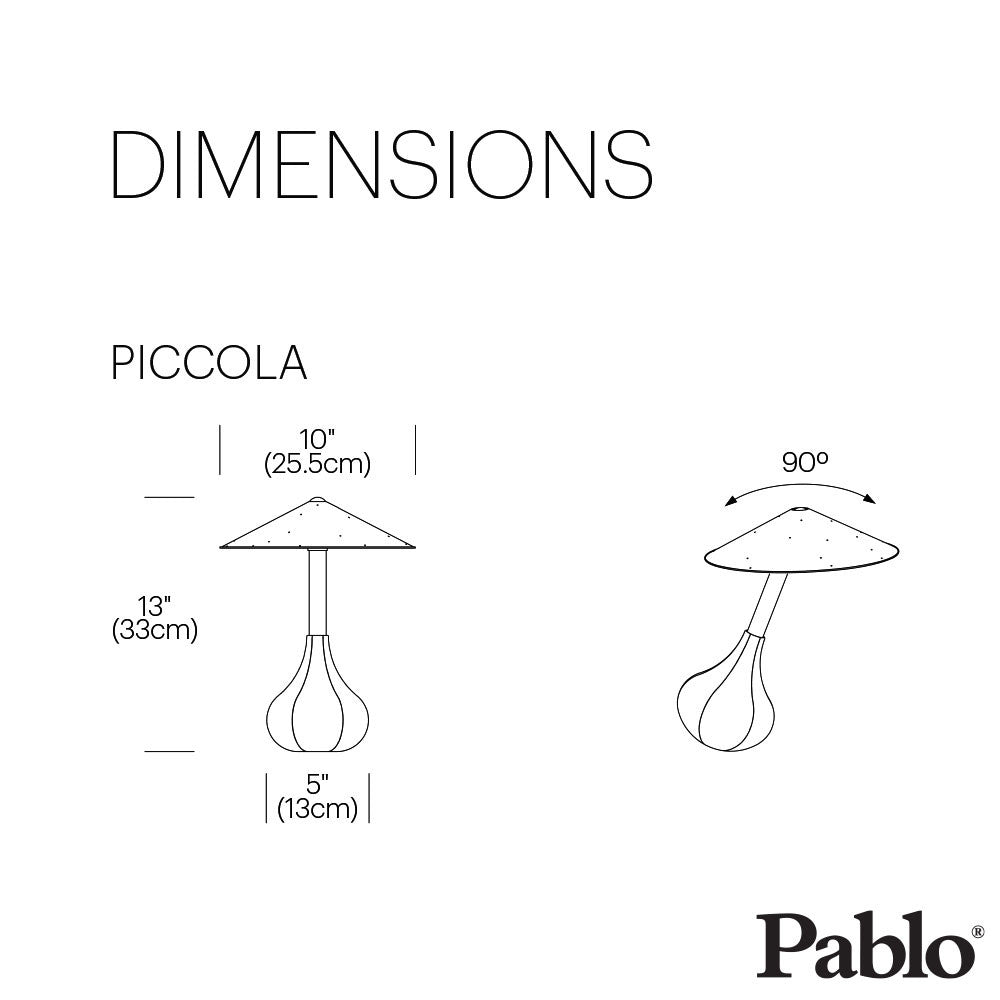 Pablo Design Piccola Table Lamp | Pablo Design | LoftModern