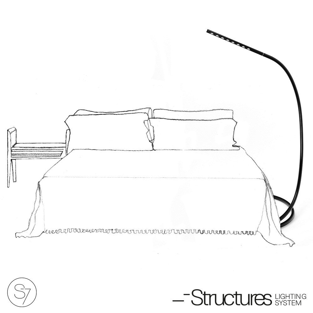 Structures S7 LED Lamp White-Gray - LoftModern - 5