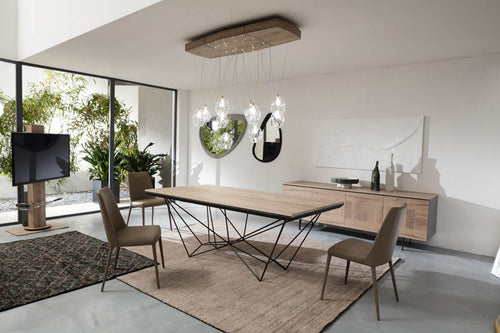 Fil8 Canaletto Walnut Dining Table by Ozzio