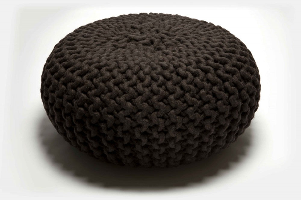 Thomas Eyck Urchin Pouf Dark Brown t.e. 067.068.069