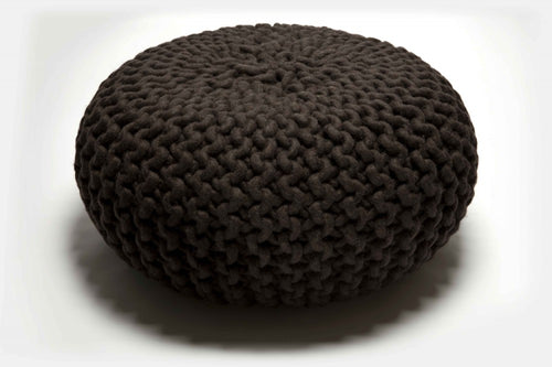 Thomas Eyck Urchin Pouf Dark Brown