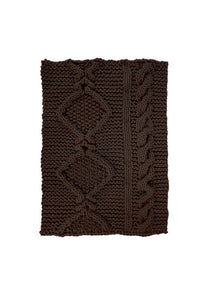 Thomas Eyck Aran Rug Brown
