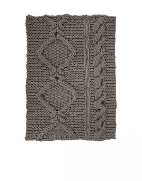 Thomas Eyck Aran Rug Light Grey