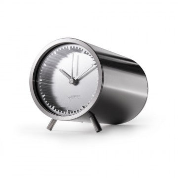 Leff Tube Desk Clock | Leff | LoftModern