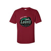 Great Lakes Loons Red Primary Tee-Youth