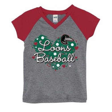 Great Lakes Loons Home Ginger Tee-Toddler