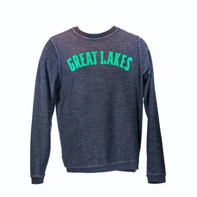 Great Lakes Loons Collegiate Corduroy Crew Sweatshirt