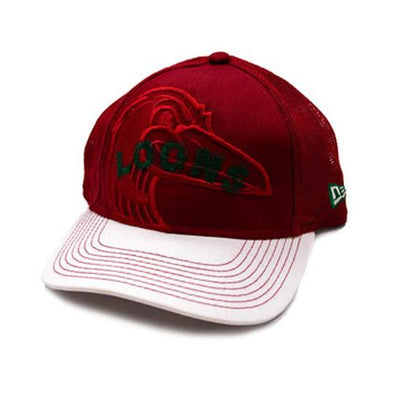 Great Lakes Loons Red Stitcher Cap - Youth