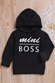 Mini Boss Hooded Sweatshirt